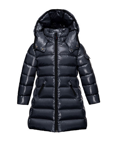 Moka Hooded Puffer Coat, Size 8-14