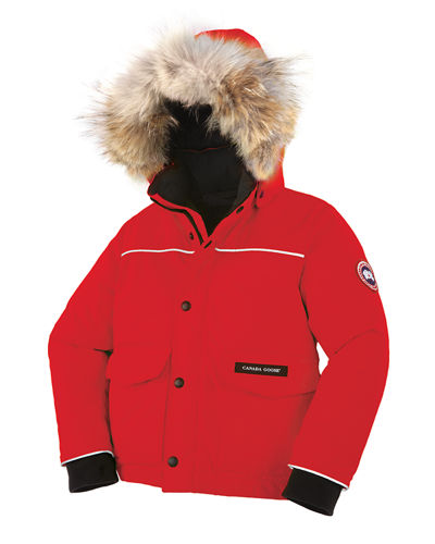 Kids' Hooded Lynx Parka, Size 2-7