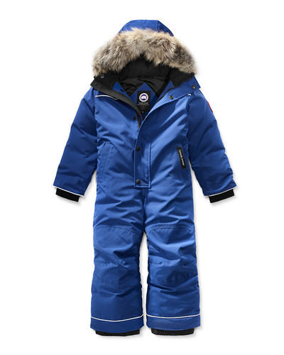 Canada Goose Grizzly Hooded Snowsuit, Size 2-7