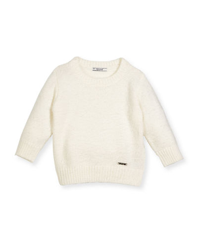 MAYORAL Long-Hair Knit Sweater, Size 3-7
