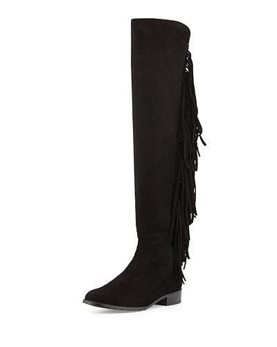 Stuart Weitzman Suede Round-Toe Over-The-Knee Boots Free Shipping Exclusive Classic Sale Online Shop Offer Cheap Online Marketable SWyiU