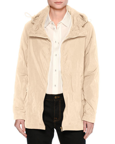 Sporty Zip-Front Jacket