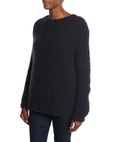 Relaxed Crewneck Cashmere Sweater