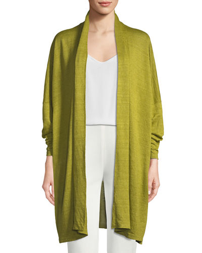 Lightweight Knit Linen Cardigan