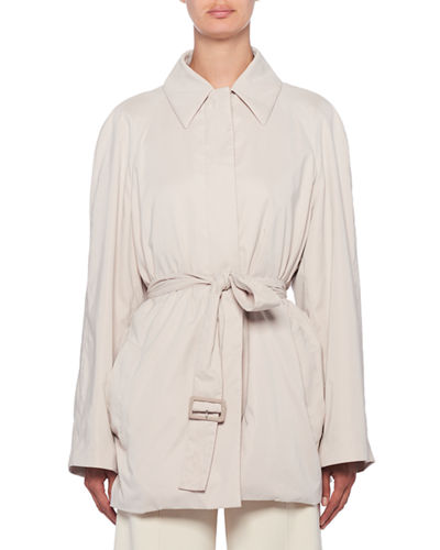 Naybin Belted Shirt-Jacket