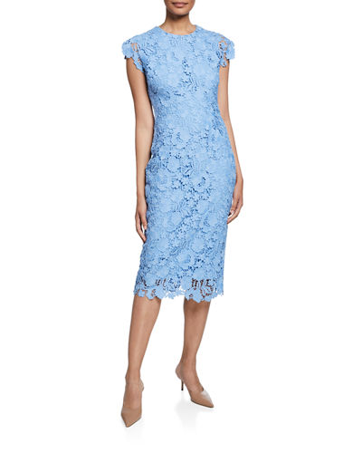 b76590e3f571 Short Sleeve Sheath Dress | bergdorfgoodman.com