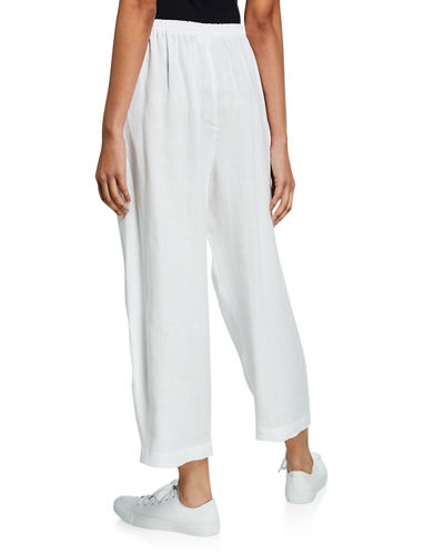 Lightweight Linen Japanese Trousers