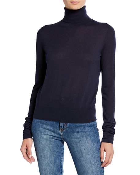 Co Sweaters CASHMERE TURTLENECK SWEATER