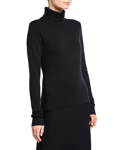 May Wool-Cashmere Turtleneck Sweater