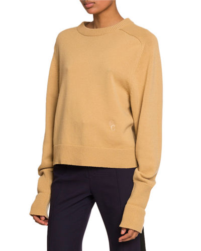 Long-Sleeve Crewneck Sweater
