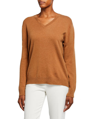V-Neck Classic Cashmere Sweater