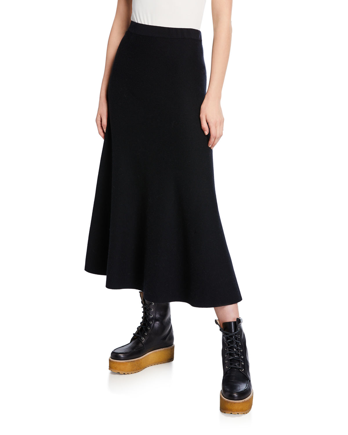 super popular 812e2 d8f08 Freddie A-Line Wool/Cashmere Skirt