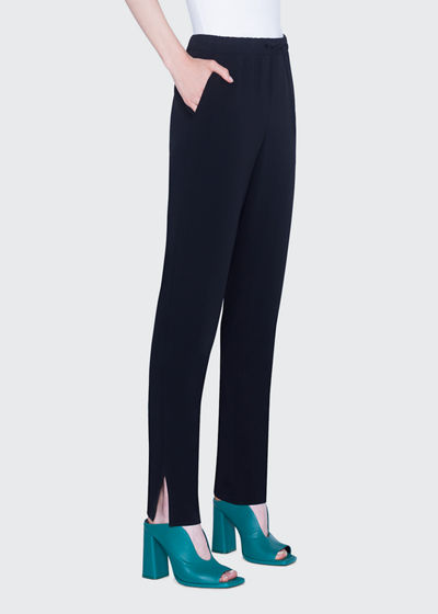 Mike Crepe Pull-On Pants