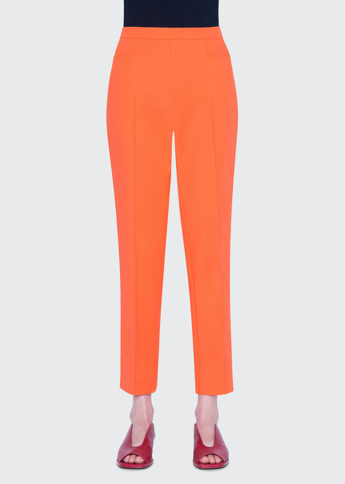 Akris Punto Pants FRANCA STRETCH COTTON PANTS
