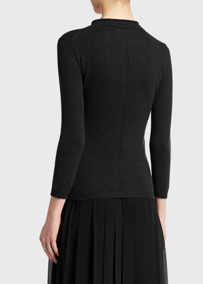 Mesago Cashmere Fitted Sweater