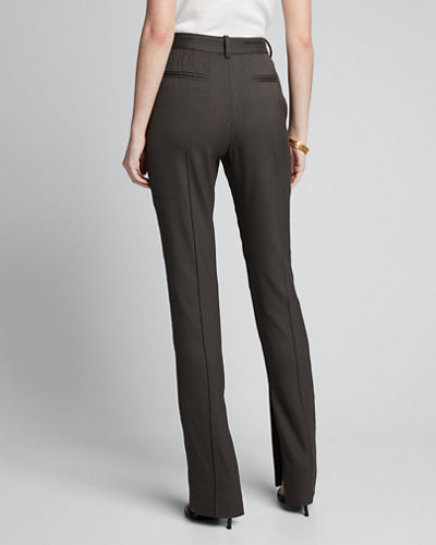 Skinny Slit-Ankle Pants