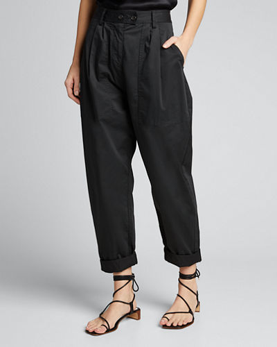 Cyro Patch-Pocket Relaxed Pants