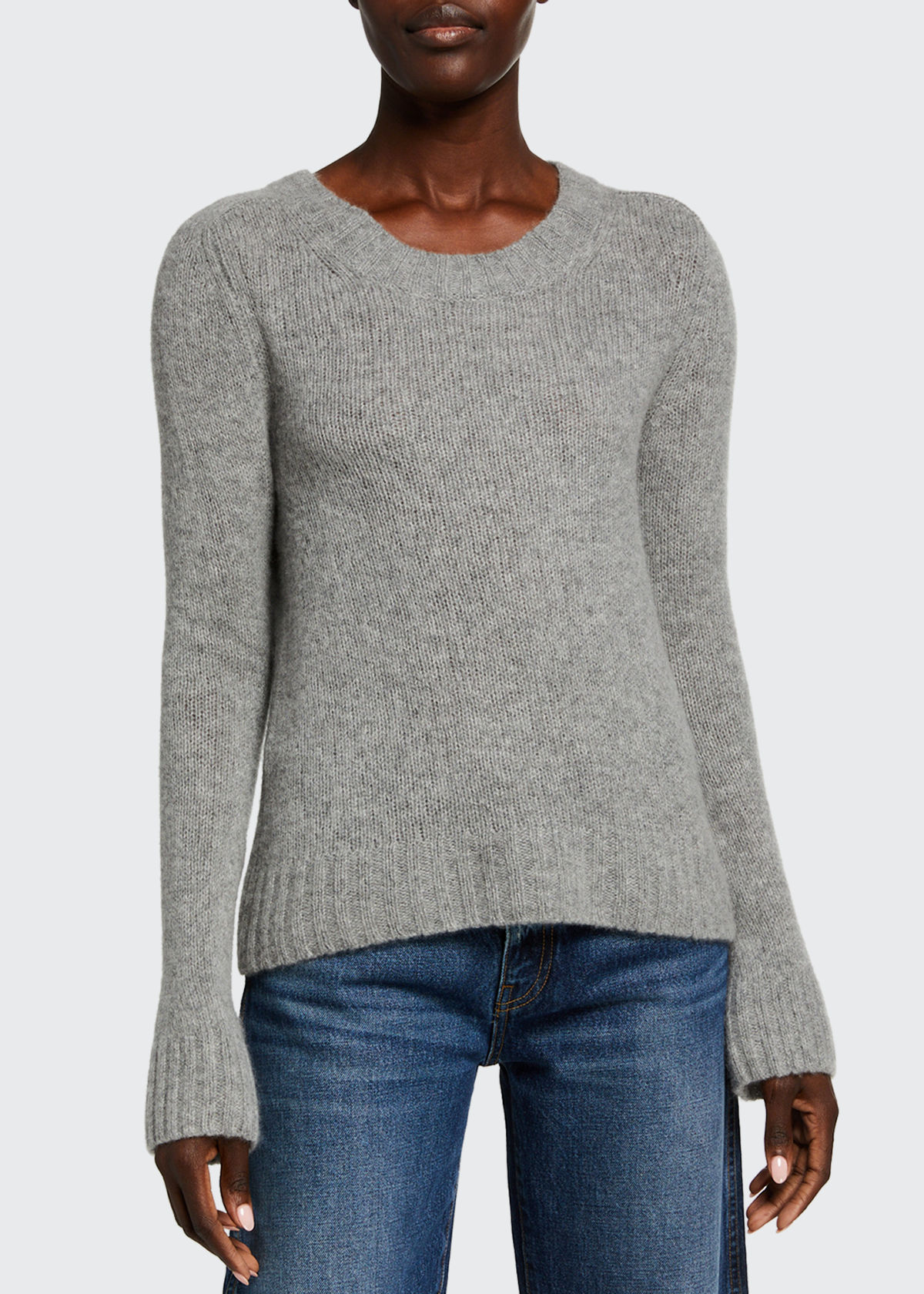 Khaite MARY JANE CASHMERE SWEATER