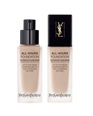 All Hours Longwear Natural Matte Foundation Br10 Cool Porcelain .84 Oz/ 25 Ml