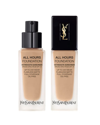 All Hours Longwear Natural Matte Foundation B45 Bisque .84 Oz/ 25 Ml