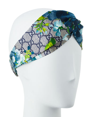 25681f155f GG Blooms Silk Headband