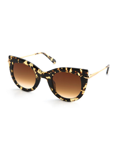 Laveau Cat-Eye Sunglasses
