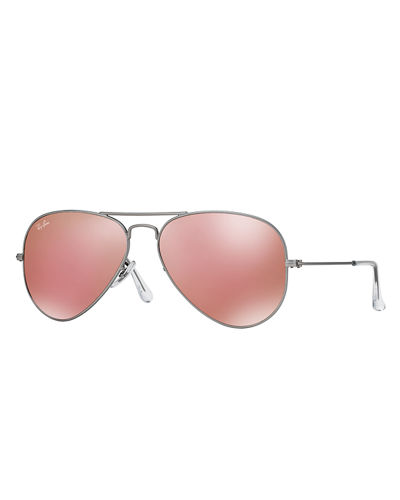 Standard Mirrored Aviator Sunglasses