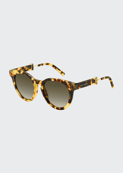Rounded Square Gradient Acetate Sunglasses
