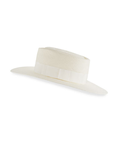 Taylor Panama Straw Boater Hat