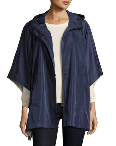Judith Satin Cape Jacket