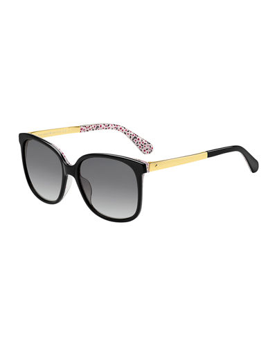 mackenzee square sunglasses