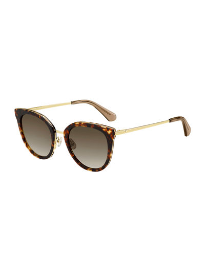 jazzlyn cat-eye sunglasses