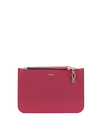Bustina Leather Pouch Bag