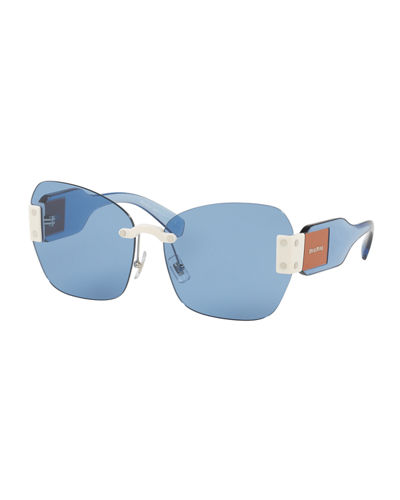 Sorbet Free Lenses Butterfly Sunglasses