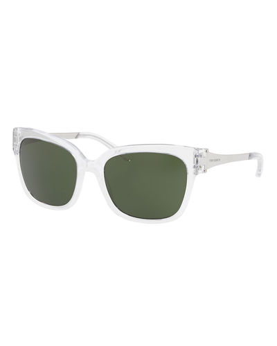 Square Acetate Sunglasses