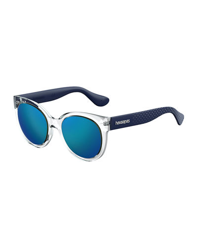 Noronham Two-Tone Rubber Sunglasses