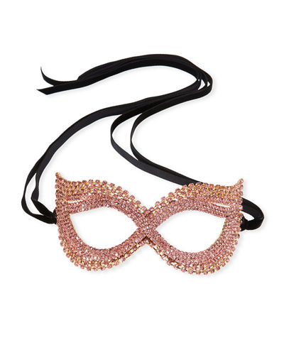 Cat-Eye Crystal Mask