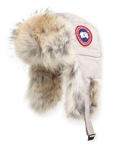 Fur Aviator Hat