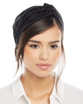 INGRID SILK TURBAN HEADBAND
