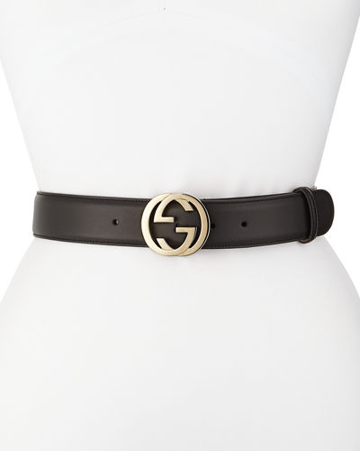 Wide Adjustable GG-Buckle Belt