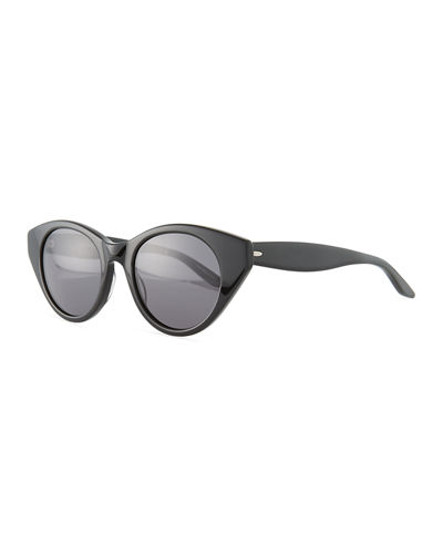 Kismet Cat-Eye Monochromatic Sunglasses