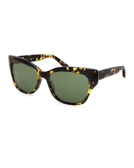 Barton Perreira Sunglasses ALOHA CAT-EYE SUNGLASSES