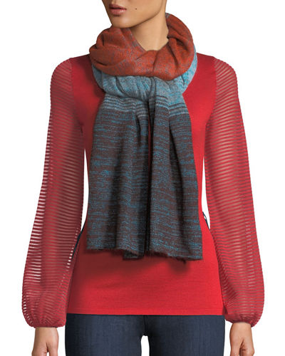 Striped Ombre Scarf