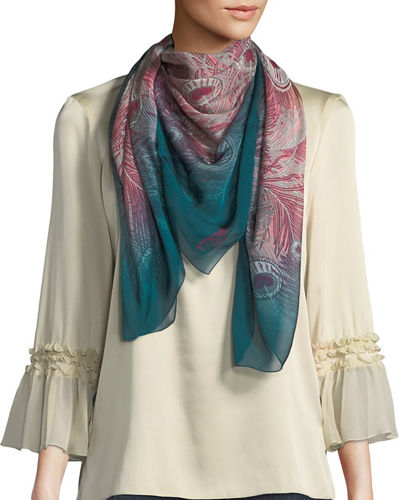 All O'Hera Silk Scarf
