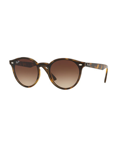 861b7da27e Round Lens-Over-Frame Plastic Sunglasses Quick Look. Ray-Ban
