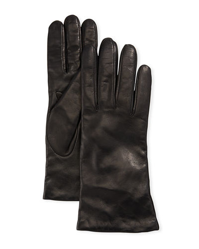 Portolano Cashmere-Lined Napa Leather Gloves