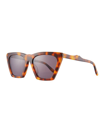 Lisbon Cat-Eye Acetate Sunglasses