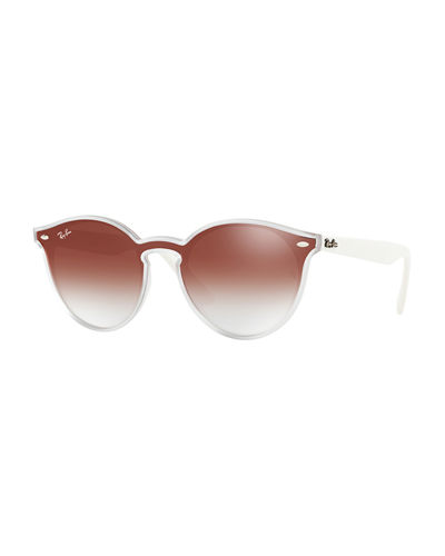 0a5958ccc50 Round Lens-Over-Frame Plastic Sunglasses Quick Look. Ray-Ban