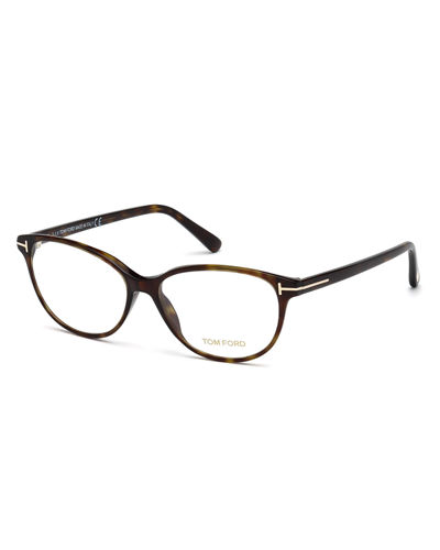 Cat-Eye Optical Frames  Brown Havana