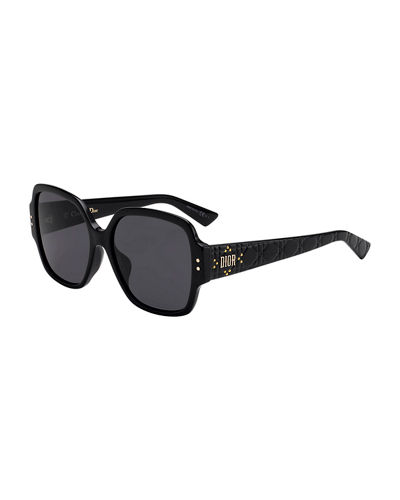 Lady Dior Studs Square Sunglasses